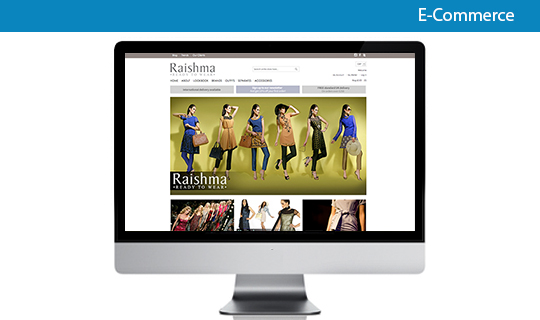 ecommerce website design using magento